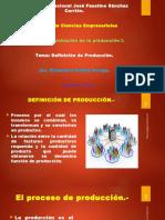 Tema 2 Definición de Producción