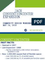 Miami Beach Convention Center Design Workshop 05.13.10