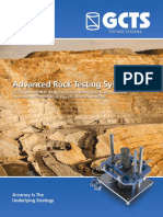 GCTS Rock Testing - Full Catalogue