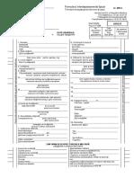 Formular Interdepartam. Tipizat Nr. MR 2
