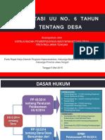Implementasi Uu No.6 Th 2014