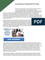 Tengah  Untuk  Umum   Keamanan  Training ahli K3 Umum  Kontrol , LLC