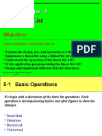 Documents.mx Data Structures a Pseudocode Approach With c 1 Chapter 5 Objectives Upon Completion You Will Be Able to Explain the Design Use and Operation of a Linear