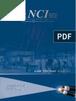 NCI - LV Cables Catalogue