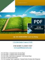 CJA 204 HOMEWORK Learn by Doing/cja204homework.com