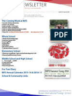 BIFS Newsletter, 2016-06-03 (English)