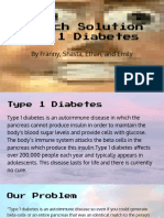 biotech solution type 1 diabetes