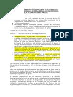 Aplicación Del Derecho Internacional de Los Derechos Humanos y Del Derecho Internacional Humanitario Por Parte de Las Naciones Unida1