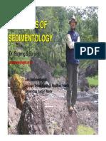 Sedimentology- Pak Sugeng