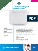 NF4V Spec Sheet