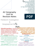 Geog 4a Revision Notes 1