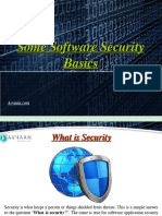 Avyaan- Some Software Security Basics