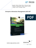 Enterprise Information Management With Sap Sample