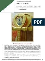 La Croce D'Iside, Password Di Una Macchina Della Vita