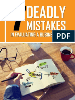 The 7 Deadly Mistakes?