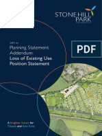 SHP2016 - PSA Loss of Existing Use Position Statement