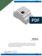 VRT014 User Manual Teltonika