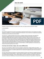 Faire Parler Les Données de Santé _Le journal du CNRS