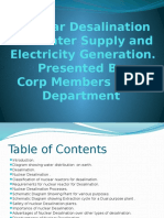 Nuclear Desalination for Water Supply and Electricity Generation c.y