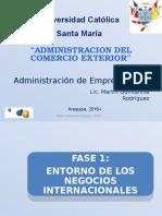 ADMINISTRACION DE COMERCIO EXTERIOR