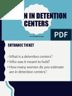 social activism- women in detention centers pptx