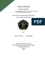 Review Jurnal Sosiologi Akuntansi