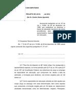 Tramitacao-PL 7813-2014 (Aposentadoria Dos Especialistas Em Educação)