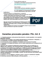 Gtias. Procesales Penales