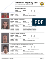 Peoria County Jail Booking Sheet 6/5/2016