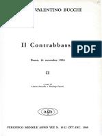 V. Bucchi Contrabbasso