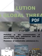 Pollution threat