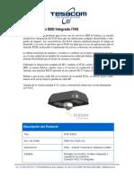 Modem Iridium SBD Integrado ITAS 832