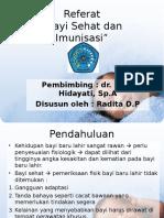 Referat Bayi Sehat Dan Imunisasi wajib