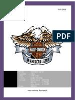 Report Business Case Harley-Davidson