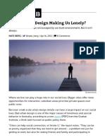 Is Bad Urban Design Making Us Lonely_ - CityLab