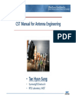 CST 2009 Manual_antenna_engineering [호환 모드]