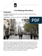 10 Techniques for Making Cities More Walkable - CityLab