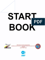 2016 Senior Pan Ams Start Book