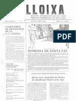 LLOIXA. Número 10, abril 1982. Butlletí informatiu de Sant Joan. Boletín informativo de Sant Joan. Autor