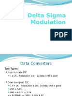 Delta Sigma Modulation