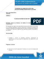 Actividad de Aprendizaje Unidad 2 Clases de Sistemas de Gestión
