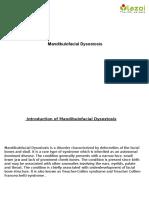 Mandibulofacial Dysostosis