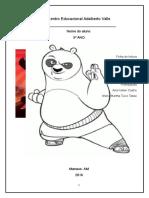 Ficha de Leitura Kung Fu Panda