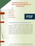 Proses Pernyataan Proklamasi Kemerdekaan Indonesia