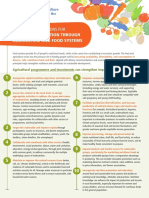 Key Recommendations for Improving Nutrition Through Agiculture and Food Systems