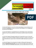 Revista sobre los lugares turísticos de la Ciudad de la Paz
