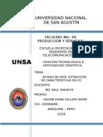 Extracción de Características en Icc