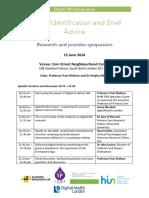 Digital IBA Symposium 15 June 2016 - AGENDA
