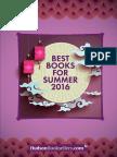 Hudson Booksellers Best Books for Summer 2016