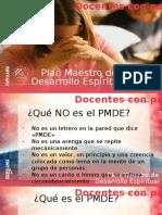 Promotores Del Pmde - Capacitación 2016